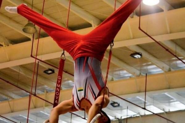 Cristian Valderrama la cuota opita de gimnasia en Barranquilla