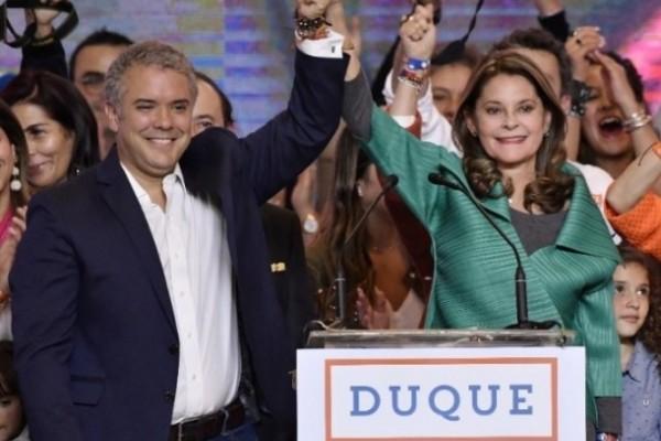 COLOMBIA TIENE NUEVO PRESIDENTE