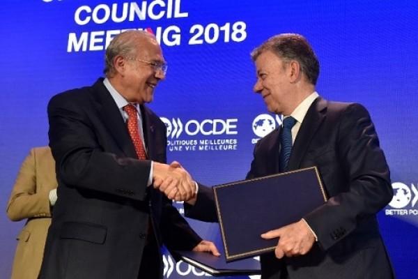 Hoy Colombia entró oficialmente a hacer parte de la OCDE