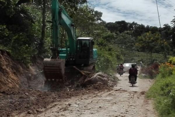 Cerrada estará la vía entre Saladoblanco y Oporapa Casi de manera continua.