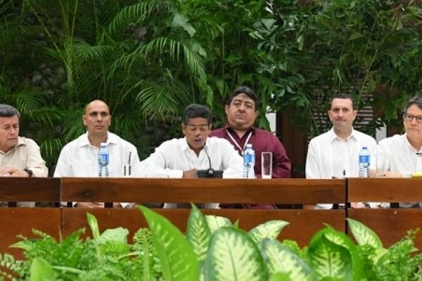 Instalados en la Habana los nuevos Diálogos de Paz esta vez con el ELN