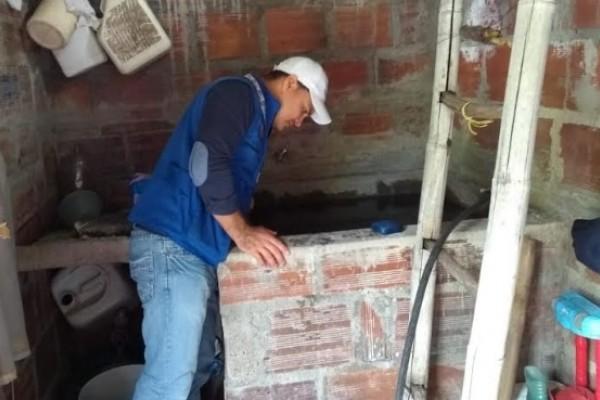 Las visitas casa a casa la estrategia para prevenir dengue en Rivera Huila