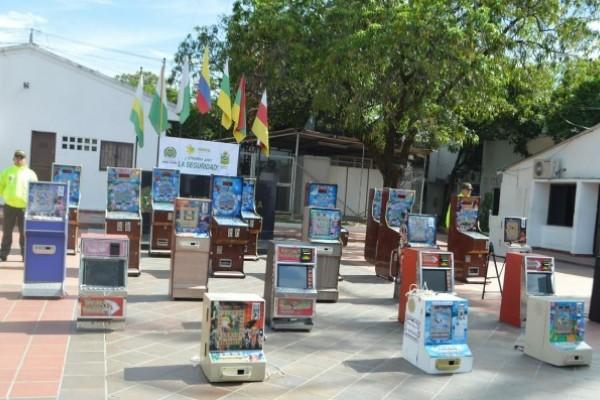 Policía contra juegos ilegales en Neiva