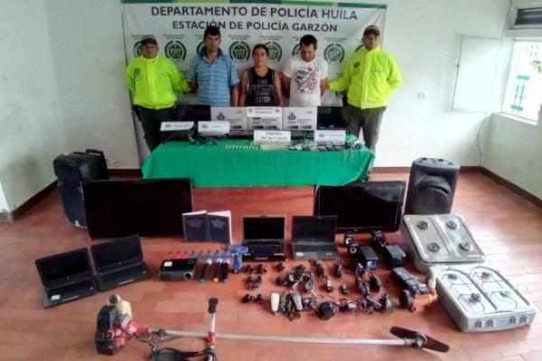 """Operación """"LOS PC"""" los capturaron por robar instituciones educativas"""