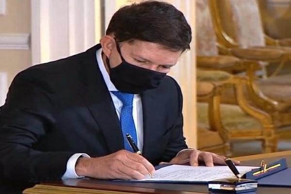 Iván Duque posesionó a Wilson Ruiz Orjuela como nuevo Ministro de Justicia y Derecho