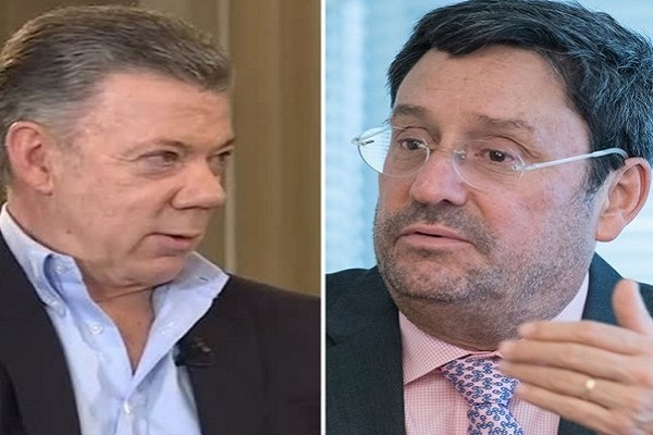 Francisco Santos denunciará a su primo el Expresidente Juan Manuel Santos