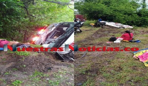 Ambulancia sufrió fatal accidente