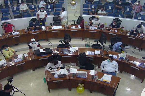 Suspendido Debate del Proyecto de Alumbrado Público