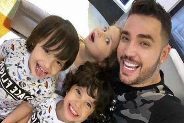 Jessi Uribe le celebró el cumpleaños a sus gemelos