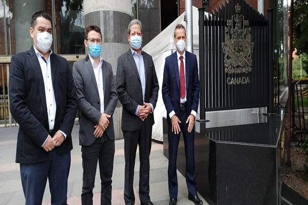 Embajador de Canadá anunció inversiones y cooperación para el Huila