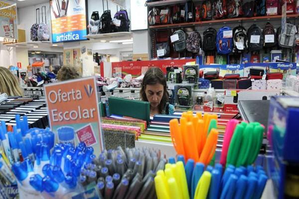 En el Huila disminuyó la comercialización de útiles escolares