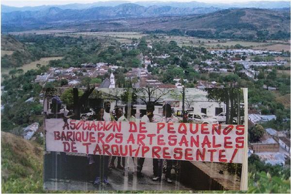 Mineros Artesanales de Tarqui solicitan ser indemnizados del Quimbo