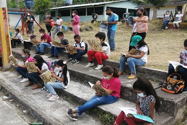 Estrategia para incentivar la lectura llega a la zona rural y urbana de Pitalito