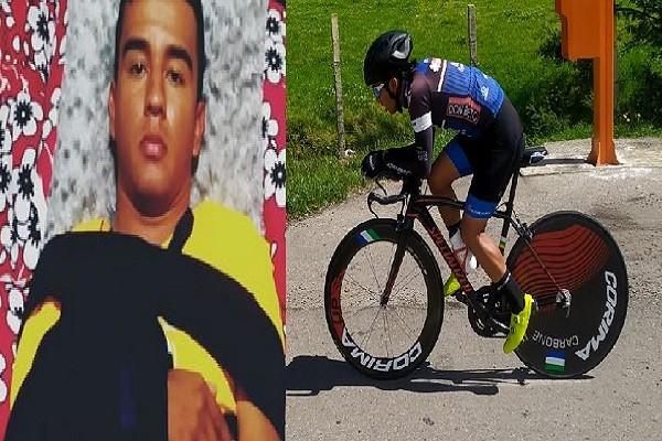 Imprudencia vial dejó por fuera de competencia a ciclista opita
