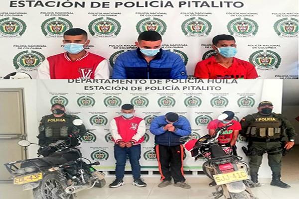 Operativos contra el hurto en Pitalito permitió la recuperación de motocicletas