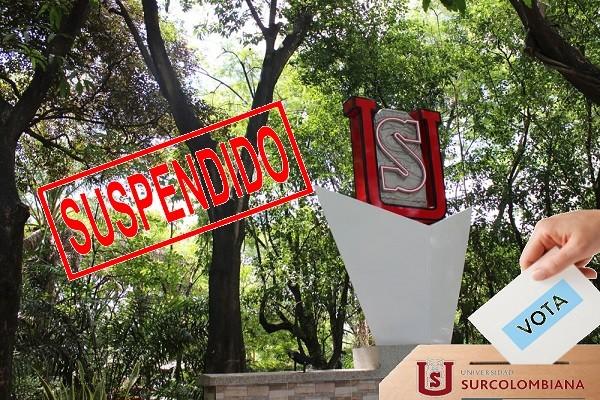 Suspenden nuevamente votación para rectoría en la Usco