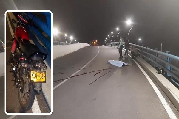Motociclista falleció en accidente en Neiva
