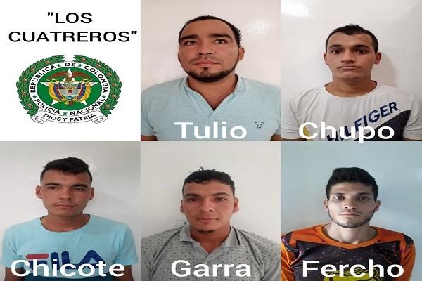 Cayeron 'Los Cuatreros' por robo de ganado en el Huila