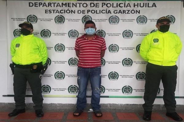 Cayó sujeto que atracó casino en Garzón