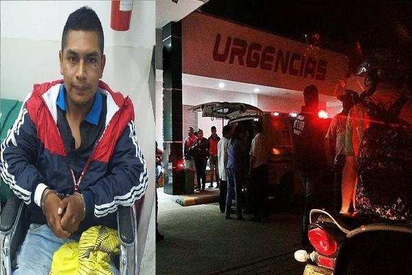 Hirió a un joven y se enfrentó a tiros con la Policía en Pitalito