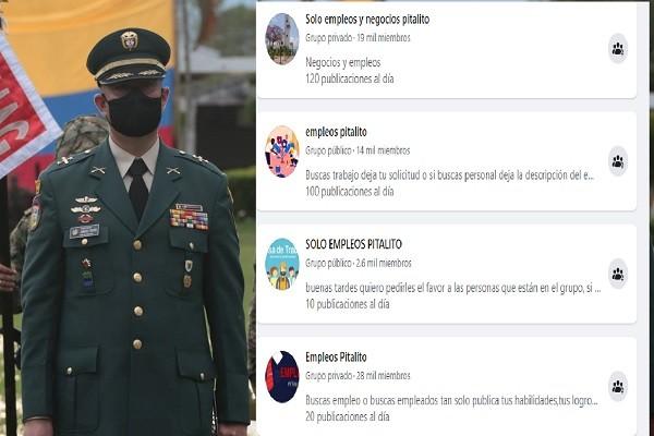 Ejército en Pitalito advierte sobre falsas ofertas laborales