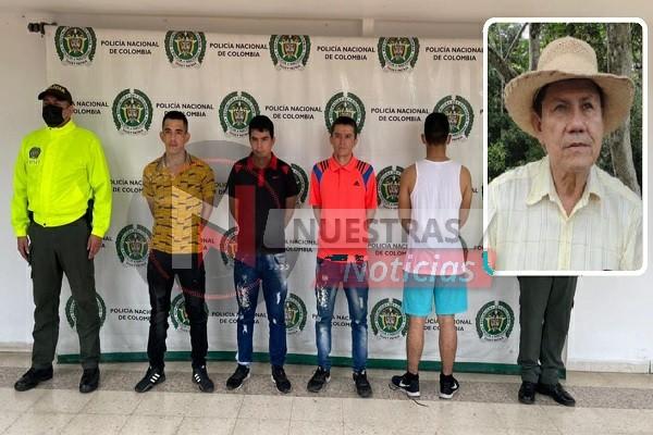 'Los Chuma' responsables de asesinato de líder social en Campoalegre