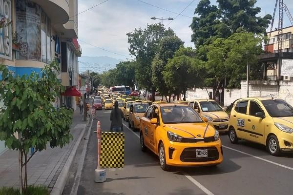 Taxistas listos para unirse al Paro Nacional en Neiva