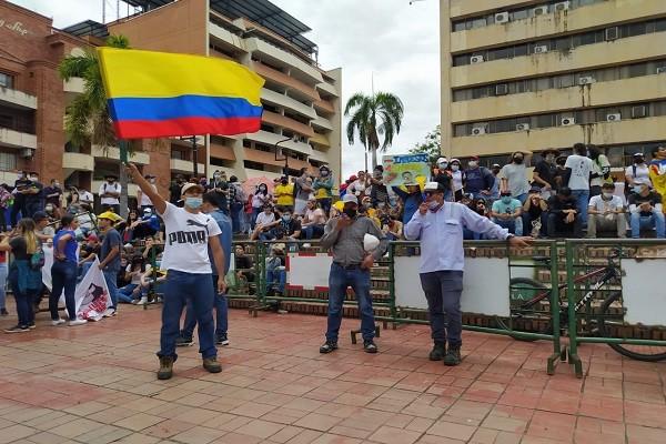Balance de las protestas en Neiva