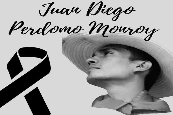 Juan Diego la cara del Paro Nacional