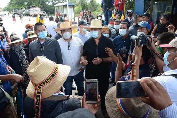 Arrancó primera mesa de dialogo en el Huila con el Gobierno Nacional