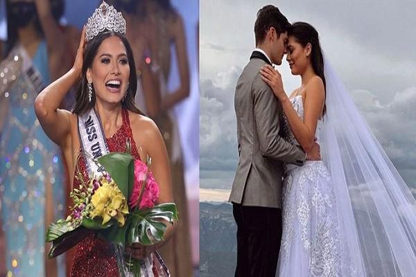 La nueva Miss Universo estaría casada