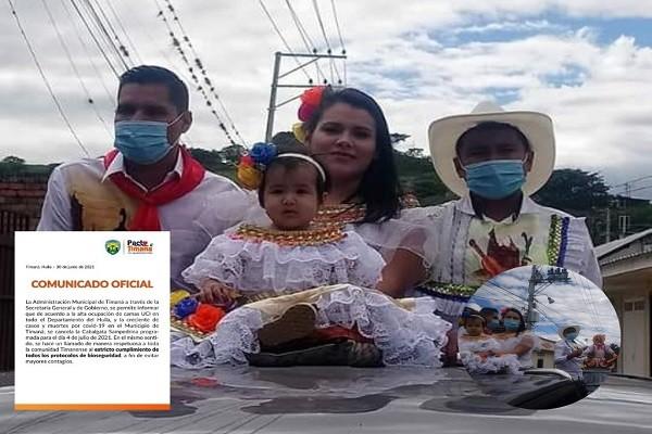 Personero de Timaná festejó las fiestas del San Pedro