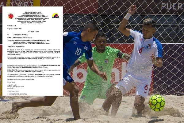 ¡Confirmado!, Neiva será sede de la eliminatoria de Fútbol Playa