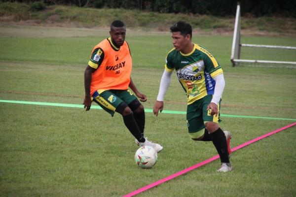 Atlético Huila se alista para enfrentar a Patriotas