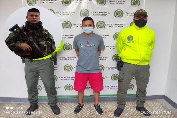 "Capturan a ""Enano"" por homicidio en Tello"