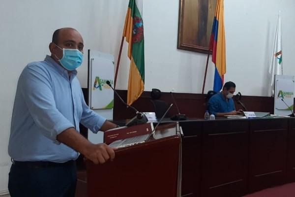 Gobernación sustentó proyecto de adición de recursos