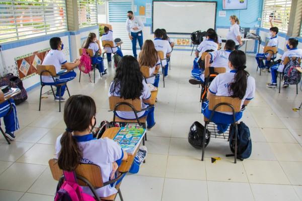 Educación vial en los colegios de Neiva
