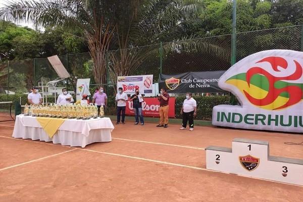 Finalizó el Torneo Nacional de Tenis. Bogotá se impuso en la competencia