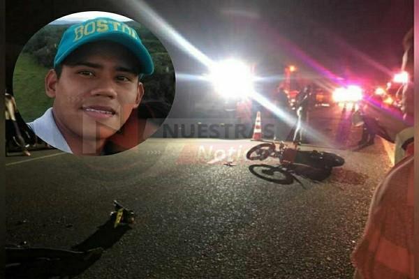 Joven falleció en accidente en Rivera