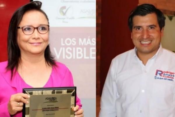 Tribunal Administrativo entrega credencial a la diputada Clara Vega
