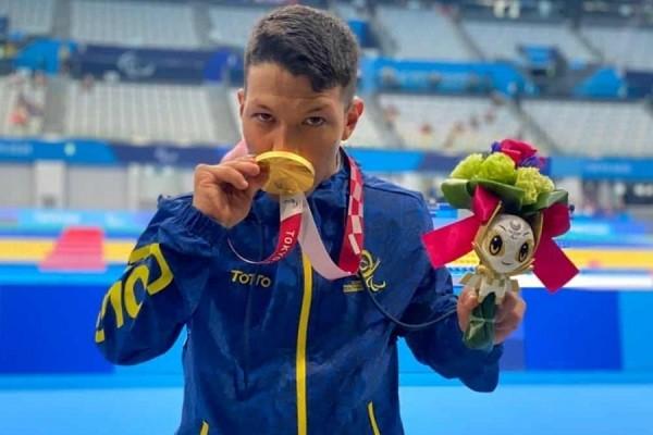 ¡Oh júbilo inmortal!, Oro para Colombia en los Juegos Paralímpicos