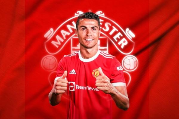 Cristiano Ronaldo, nuevo fichaje del Manchester United