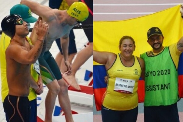 Nuevas medallas paralímpicas para Colombia
