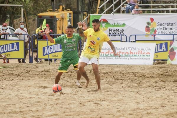 Huila invicto en las eliminatorias de fútbol playa