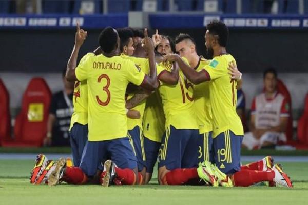 Contundente victoria de Colombia ante Chile