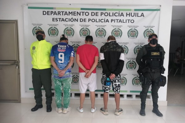 "Atraparon a ""Los rompe vidrios"" de Pitalito"
