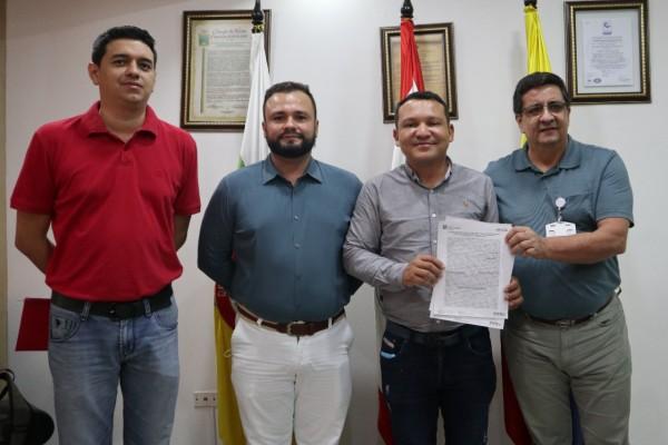 Firman convenio de pasantía entre la Usco y el Concejo de Neiva