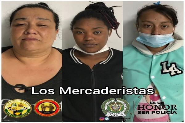 """""""Las Mercaderistas"""" coordinaban y recolectaban pagos extorsivos en el Huila"""