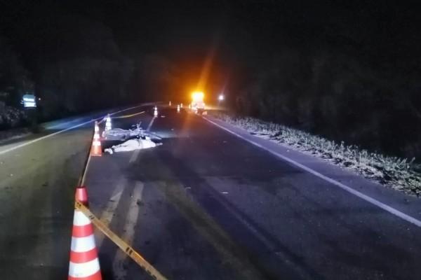 Trágico accidente en la vía a Palermo