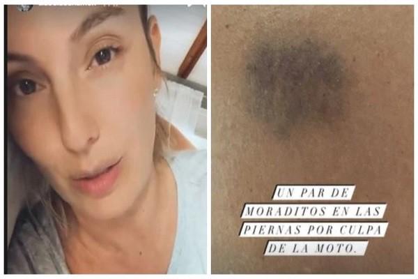 Atracaron a Claudia Bahamón